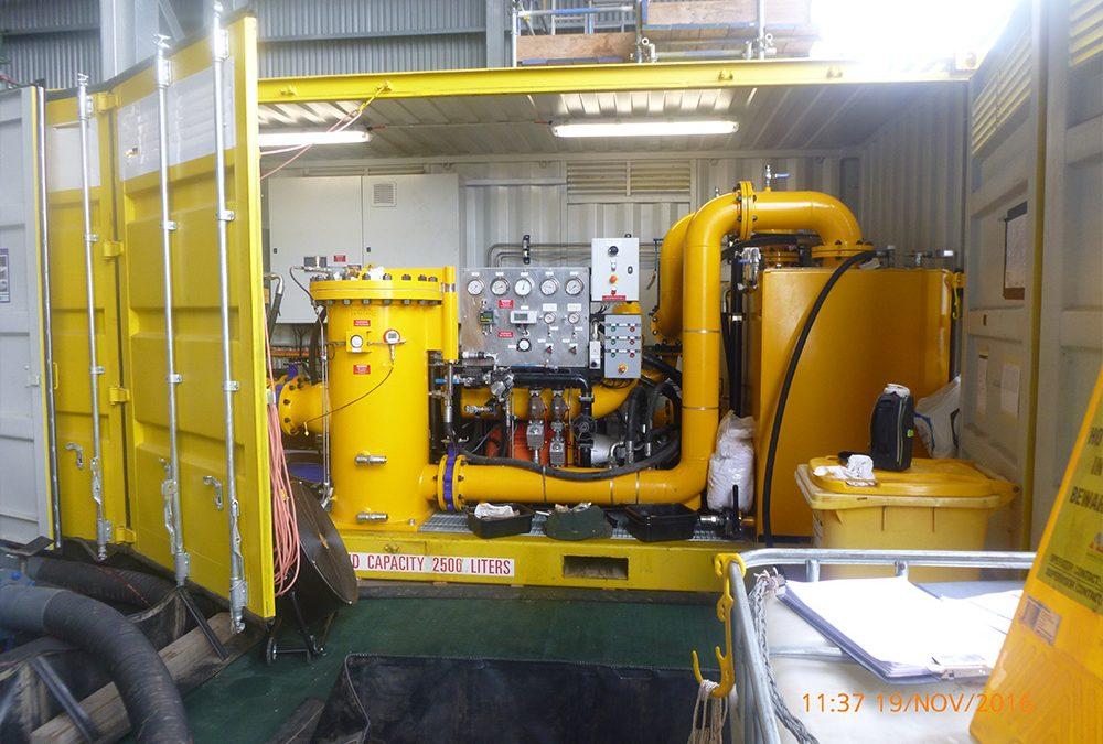 Ichthys Hot Oil Flushing